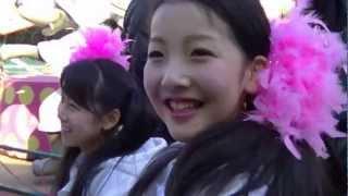 2013年2月24日東京浅草花やしきアトラクションでHIKO☆星さんたちと乗る...