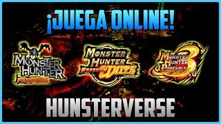「MHF × MHFU × MHP3RD」 How to play ONLINE on PC (HunsterVerse) | PPSSPP Online Emulator