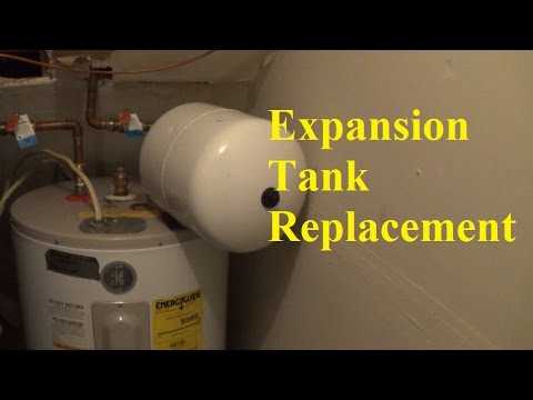 How to replace a hot water expansion tank