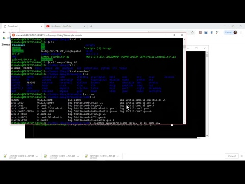 Installing LAMMPS in a Linux Environment for Beginners