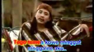 """Campur sari karaoke : """" Minggat """" vocal : Sony Jos"""