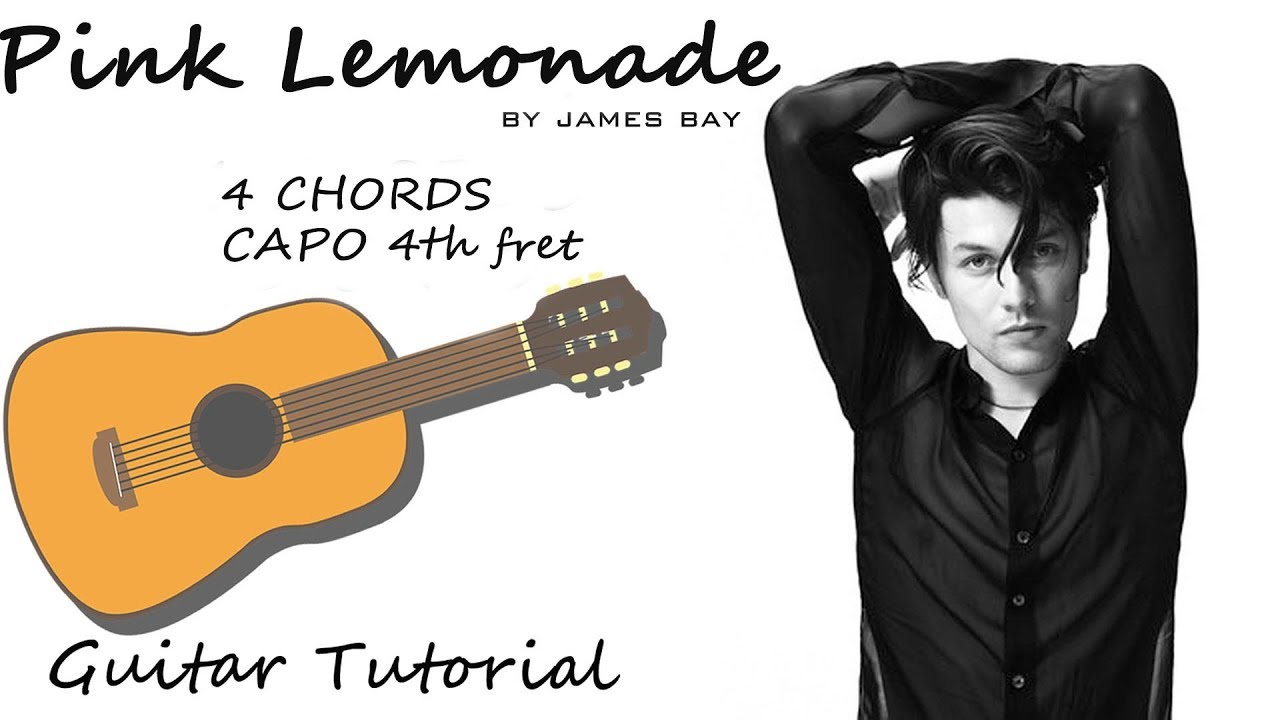 James Bay Pink Lemonade Guitar Tutorial Lesson Chords How To
