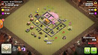 Clash of Clans: Attack #28 - Valkyrie only attack