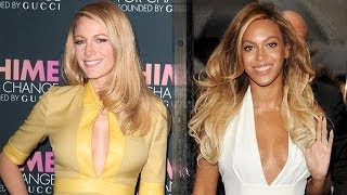 Beyonce & Blake Lively Summer Looks at Gucci Chime for Change in NYC