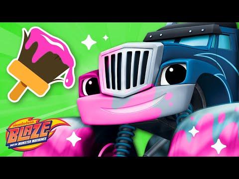 makeover-machines-#3-w/-blaze-&-crusher!-|-blaze-and-the-monster-machines