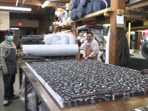 UnWrapped! manufacturing textile products in Lowell