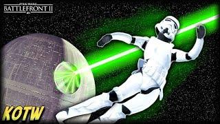 Star Wars Battlefront 2 TOP 5 KILLS OF THE WEEK (Death Star Laser Kill!)
