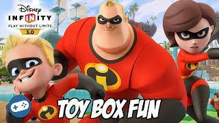 The Incredibles Disney Infinity 3.0 Toy Box Fun Gameplay Part 4