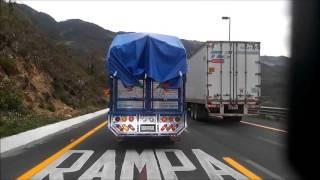 Trailer sin frenos captado en video