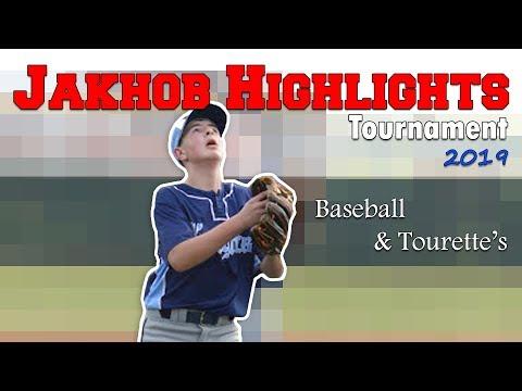 Baseball Highlights: Jakhob 13u: Playing With Tourette's (4-5-2019 / 4-7-2019)