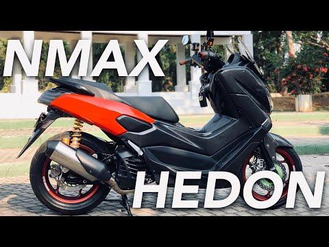 CARBONNYA GAK NAHAN BOS! - #95 Review Yamaha Nmax Modifikasi Hedon!