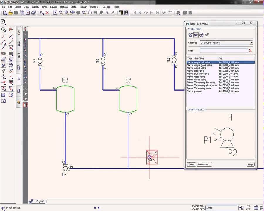 Piping Schematic Programs - Block And Schematic Diagrams •