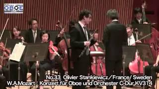 Wolfgang Amadeus Mozart - Oboe Concerto in C major, KV 314,  Olivier Stankiewicz, oboe / hautbois