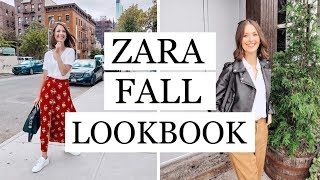 ZARA Fall Lookbook + How To Style   September 2018