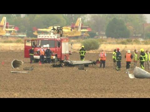 Spanien: F-18-Kampfjet beim Start abgestürzt