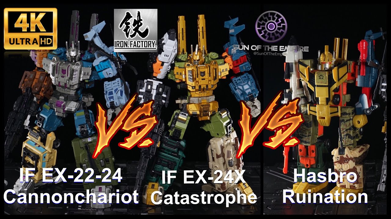 Transformers IronFactory IF EX-24X Catastrophe in Stock new