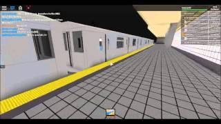 ROBLOX IRT Subway: R142/A (4) (5) Trains @ 86th Street