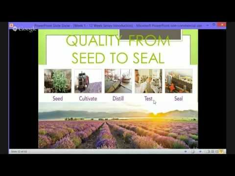 Intro Maximum Vitality w/ Young Living Diamond Shannon Hudso