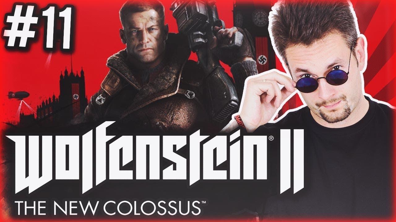 IMPREZKA PRZED FINAŁEM Wolfenstein II: The New Colossus | #11 SERIA