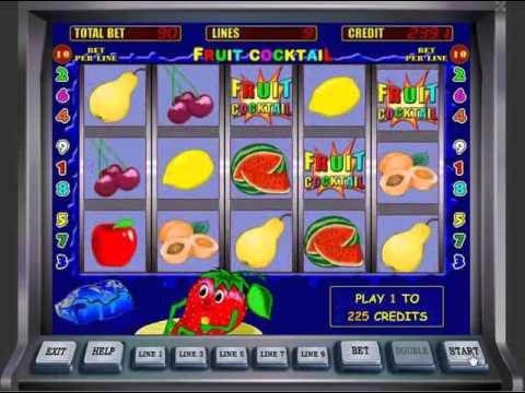 Игровой автомат Fruit Cocktail клубничка от казино Вулкан