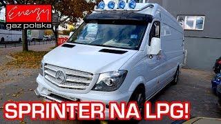 SPRINTER NA GAZ! Mercedes Sprinter 3.5 V6 272KM 2010r na auto gaz LPG BRC SQ P&D w Energy Gaz Polska