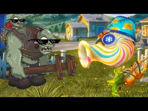 Игры Зомби против растений (Plants vs Zombies 2 )