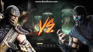 как убрать кровь в Mortal Kombat 9