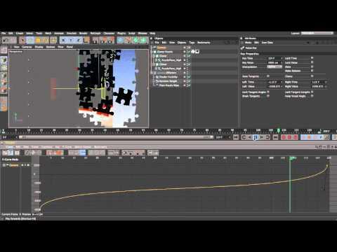 CINEMA 4D MoGraph Jigsaw Puzzle Tutorial - Part 2/4