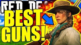 RANKING EVERY SHOTGUN from WORST to BEST in Red Dead Online... (BEST WEAPONS)