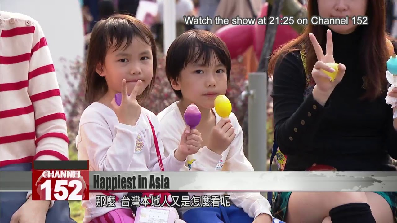 Taiwan has been ranked the happiest country in East and Southeast Asia.