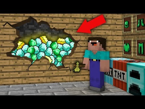 minecraft-noob-vs-pro-:-noob-found-this-treasure-room-in-villager-house!-challenge-100%-trolling