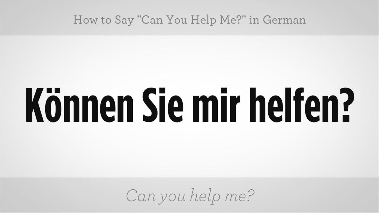 German help???????????????????????????