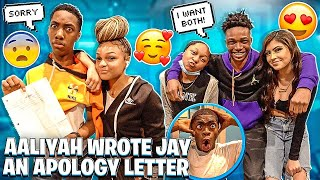AALIYAH WROTE JAY AN APOLOGY LETTER📃& MARK WANT DESIREE AND HANNAH!😱