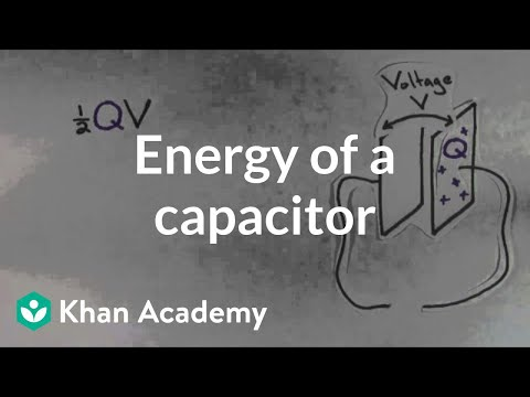 Energy Of A Capacitor | Circuits | Physics | Khan Academy
