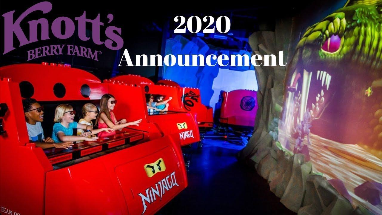Christmas At Knotts Berry Farm 2020 Knott's Berry Farm 2020 NEW RIDE   YouTube