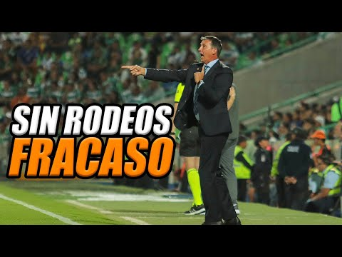 Robert Dante Siboldi, La máquina eliminada apertura 2019, Santos 3-1 Cruz Azul jornada 18 liga mx