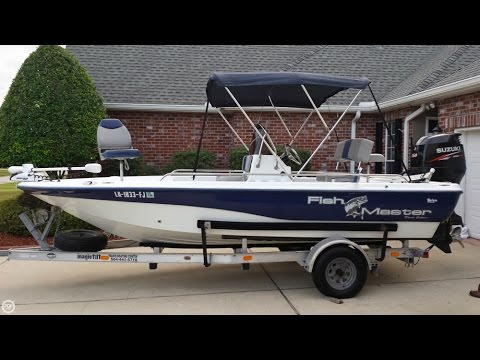 [UNAVAILABLE] Used 2003 Fish Master 196 Travis Edition In Belle Chasse, Louisiana
