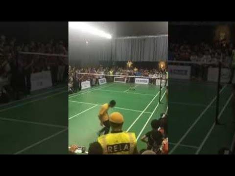 Badminton 2017  Dato Lee Chong Wei 李宗伟 1 Vs 2