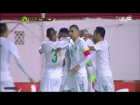 أهداف الجزائر 70 تنزانيا تصفيات كأس العالم 2018 تعليق حفيظ دراجي HD