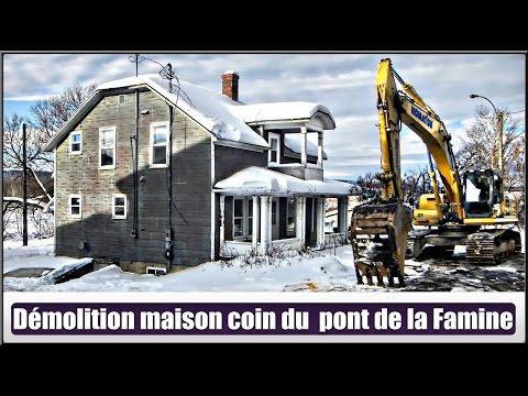 Démolitions maisons coin de la Famine.(Hier à Aujourd`hui)