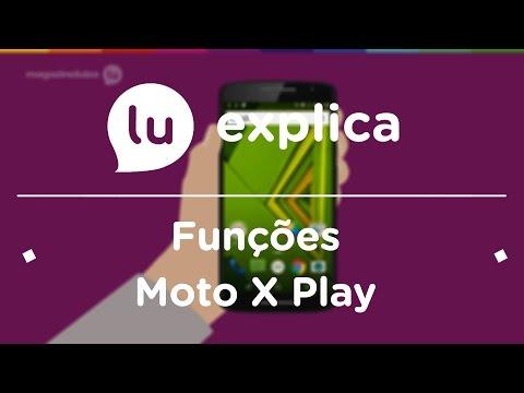 Moto X Play: conheça algumas funções