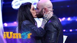 Mihai Bendeac s-a sarutat cu Roxana Vancea pe scena iUmor