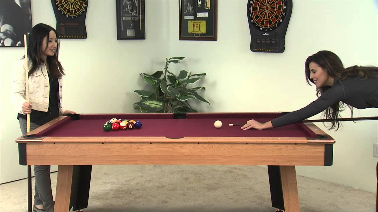 Minnesota Fats Billiards Table MFT FAIRFAX YouTube - Fats pool table