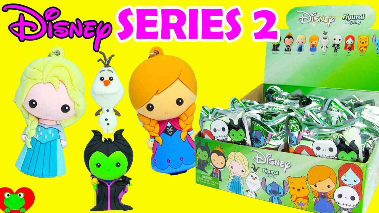New Disney Figural Keyrings Series 2 Frozen Elsa Anna