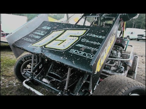 949 Productions: 600cc Mini Sprint #15 Kyle Belliveau Bear Rid...