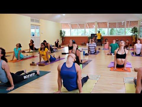 Ashtanga Yoga Primary Series Full Class at Samyak Yoga Mysore