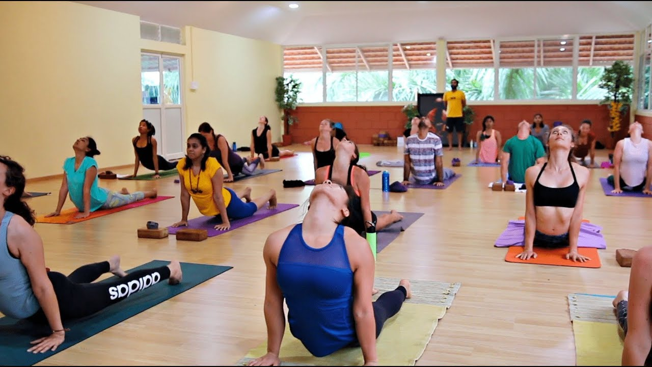 Ashtanga Yoga Primary Series Full Class With Yogacharya Arvind At Samyak Yoga Mysore Youtube