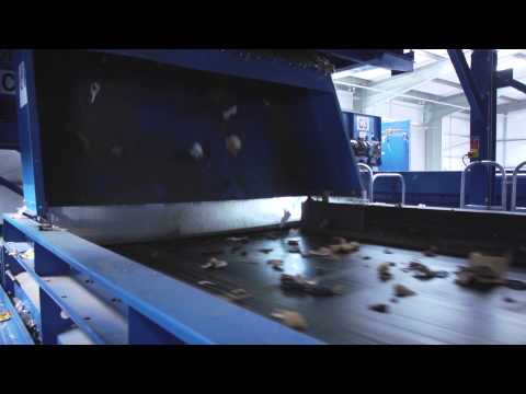 What happens at a Materials Recycling Facility? (MRF) - How does our sorting machine work?