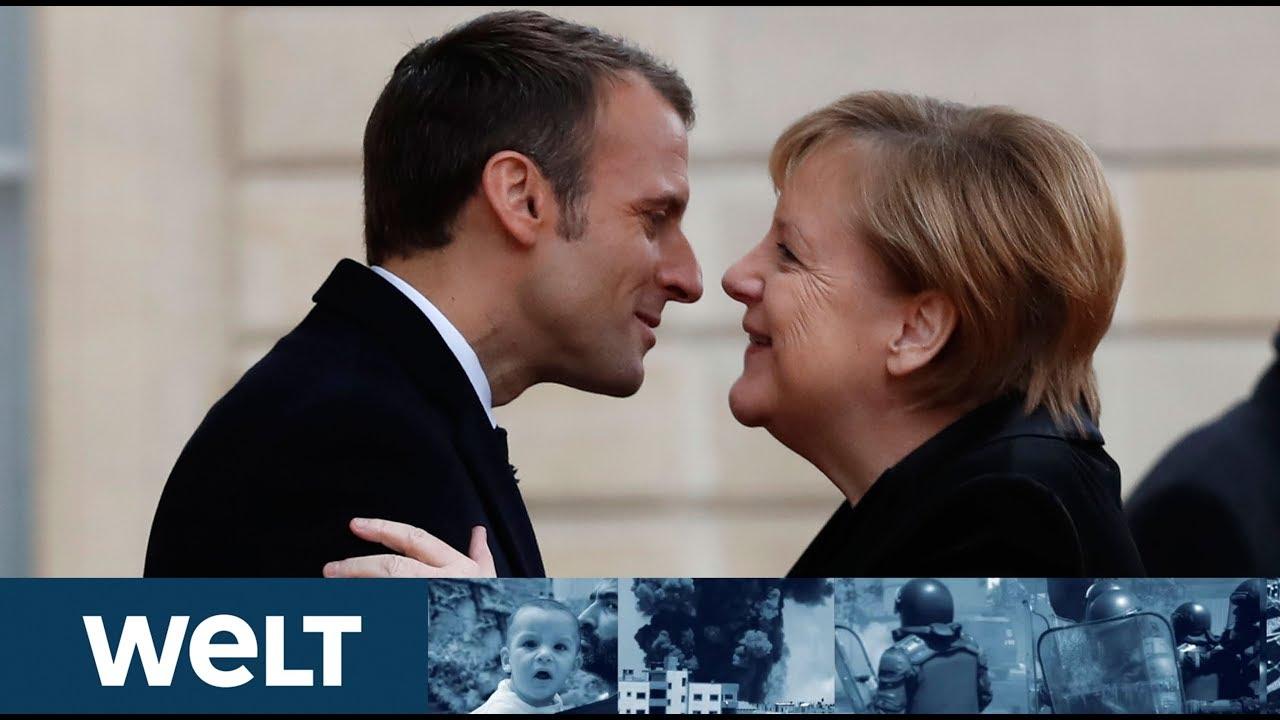 Vertrag Von Aachen Merkel Und Macron Besiegeln Neuen