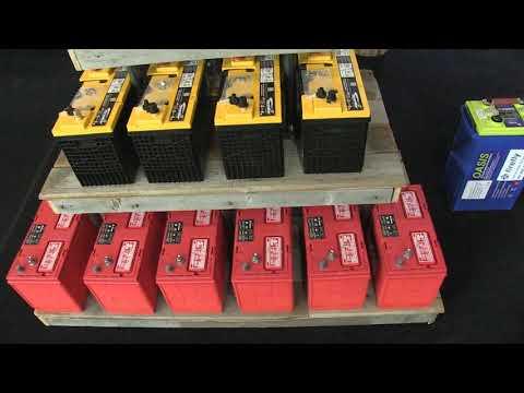 Comparison:  Firefly AGM Vs. AGM Vs. Flooded Lead Acid Batteries